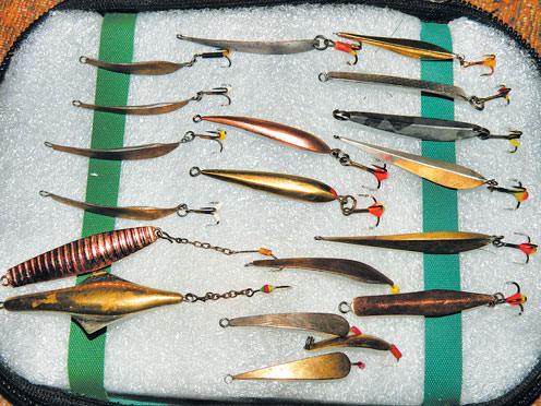 выбор блесен для ловли щуки и окуня
