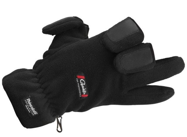 Gamakatsu Fleece Fishing Gloves