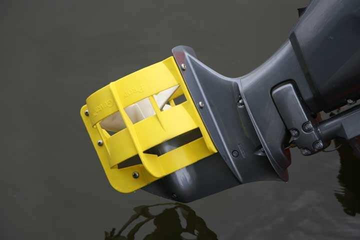 защита для винта лодочного мотора из вил