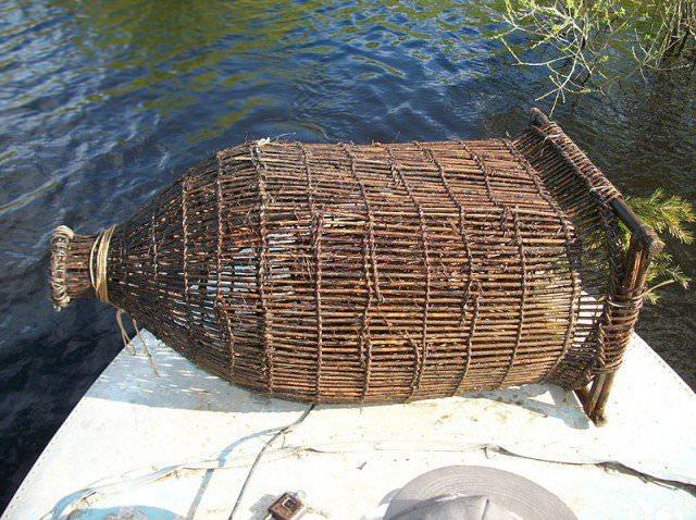 Способы изготовления рыбацких ловушек