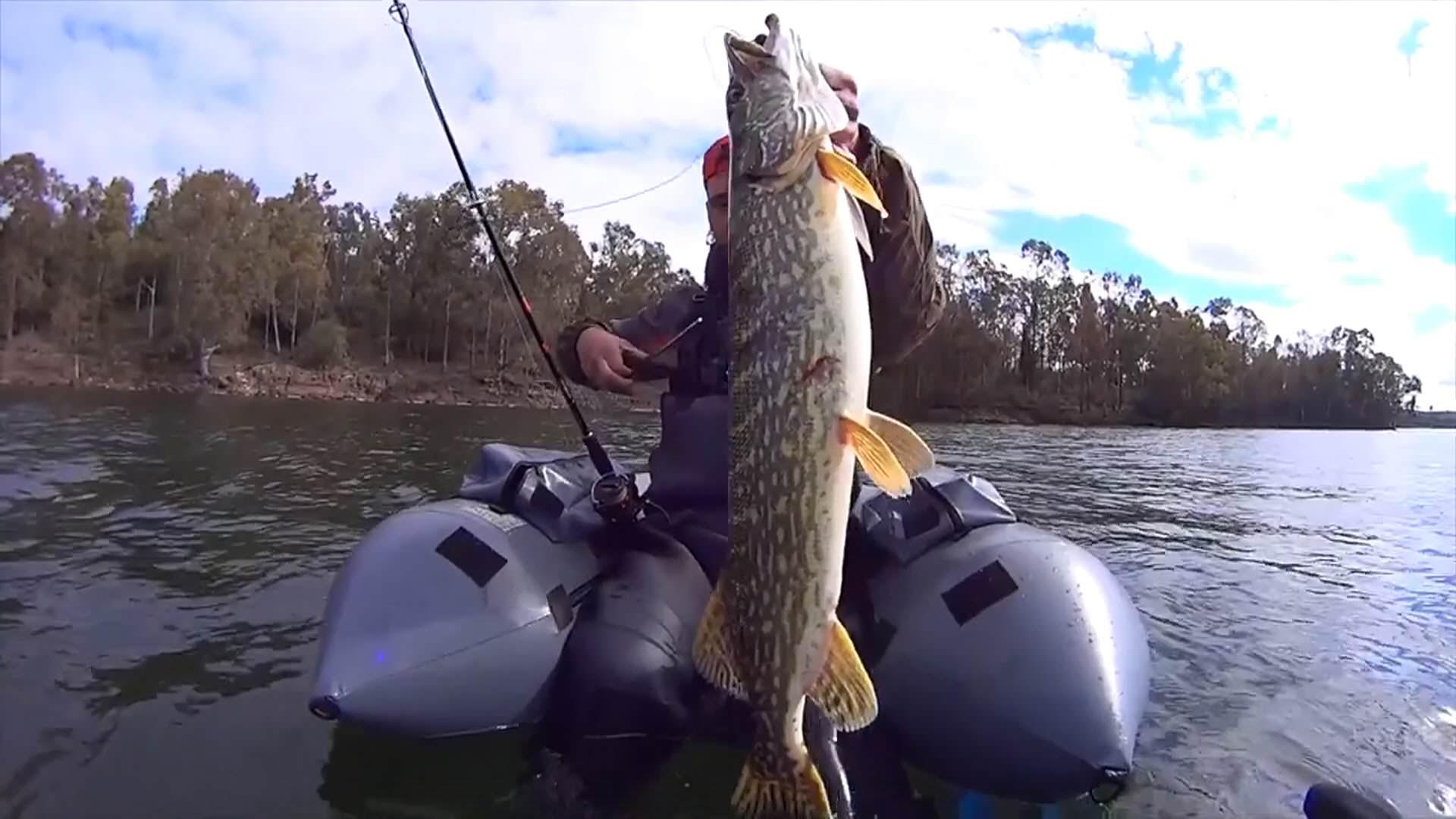 рыбалка на щуку виброхвост видео