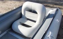 Надувное кресло в лодке ПВХ