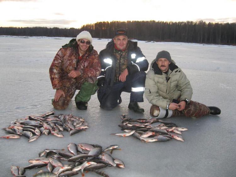Рыбаки с хорошим уловом