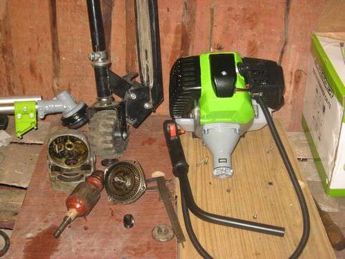 Материалы и инструменты для изготовления мотора
