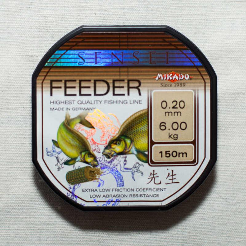 леска фидерная mikado купить