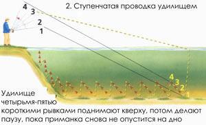 ступенчатая проводка джигом
