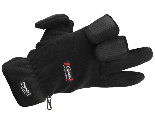 Gamakatsu Fleece Fishing Gloves