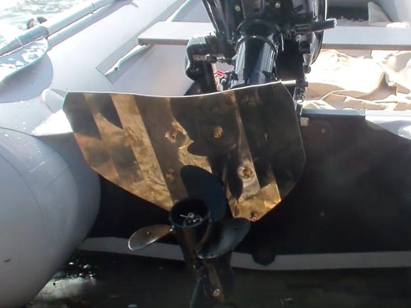 Гидрокрыло на резиновую лодку