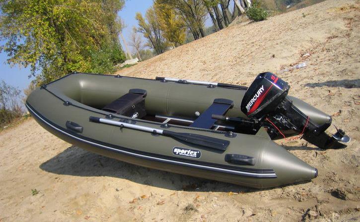 Надувная лодка для рыбалки