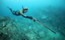 Охота под водой с ружьем
