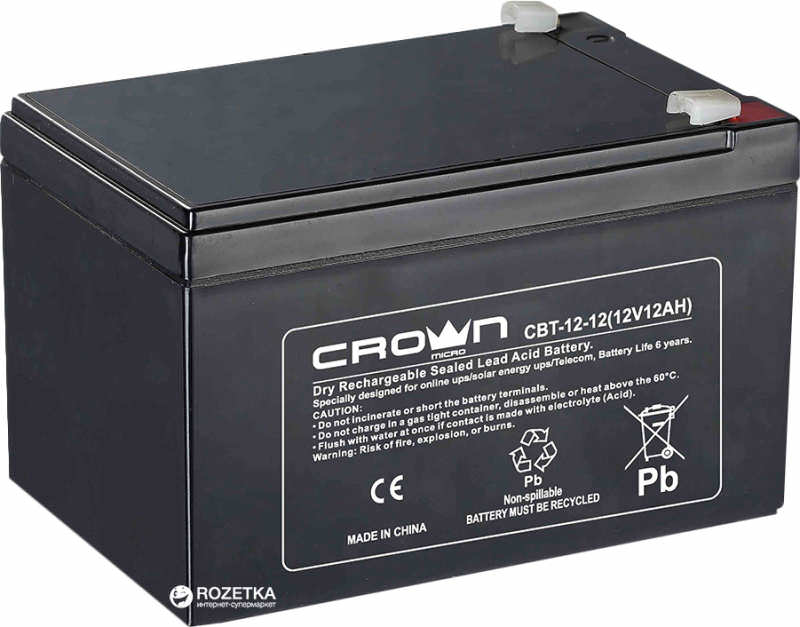 Аккумулятор CROWN 12 В