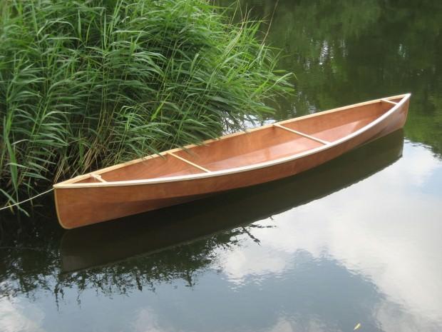 Тестирование лодки из досок