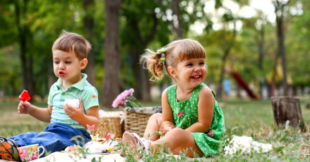Пикник с детьми