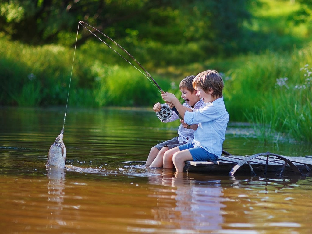 Веселая рыбалка
